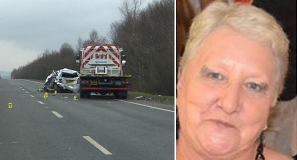 Mrs Blackman, 66, died in hospital several weeks after the crash.Source: Police Scotland