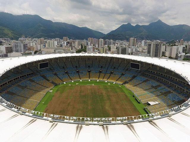 <p>A general view of the stadium in 2017 (Vanderlei Almeida) </p>