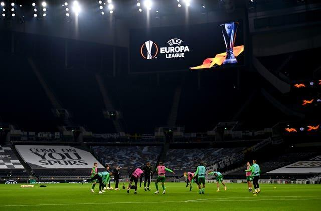 Tottenham were in the Europa League this season after four previous Champions League campaigns