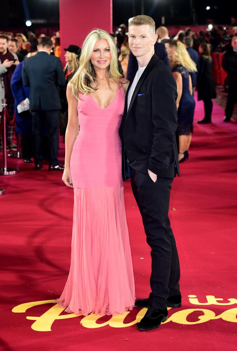 Caprice Bourret and Hamish Gaman arriving for the ITV Palooza held at the Royal Festival Hall, Southbank Centre, London.