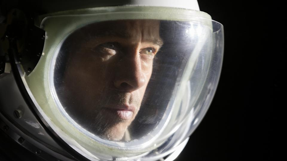 Brad Pitt plays an astronaut on a mission to Neptune in 'Ad Astra'. (Credit: Fox)