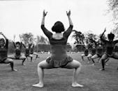 <p>You couldn't go to a park in the '70s without seeing a group partaking in aerobics or tai chi. </p>