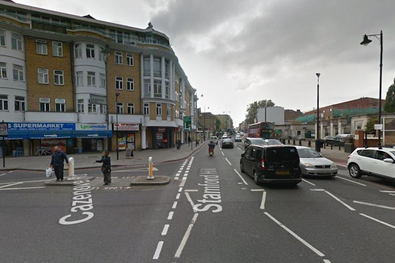 Stoke Newington crash: A man is fighting for life after being hit by a moped: Google