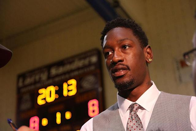 Larry Sanders is looking for another NBA opportunity. (Getty Images)
