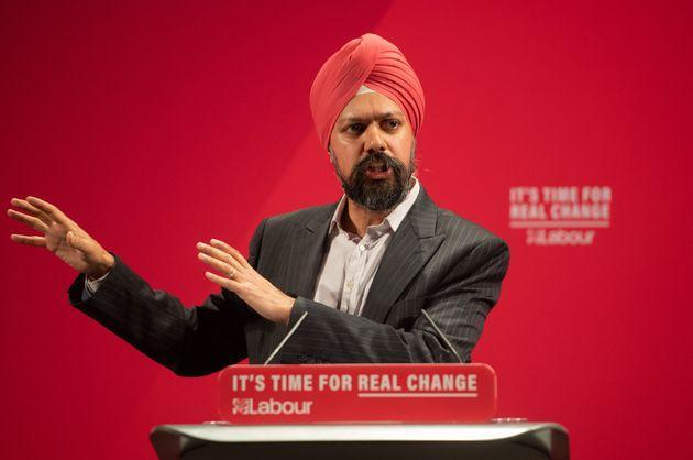 Tan Dhesi, Labour Party MP for Slough (Photo: Joe Giddens - PA Images via Getty Images)