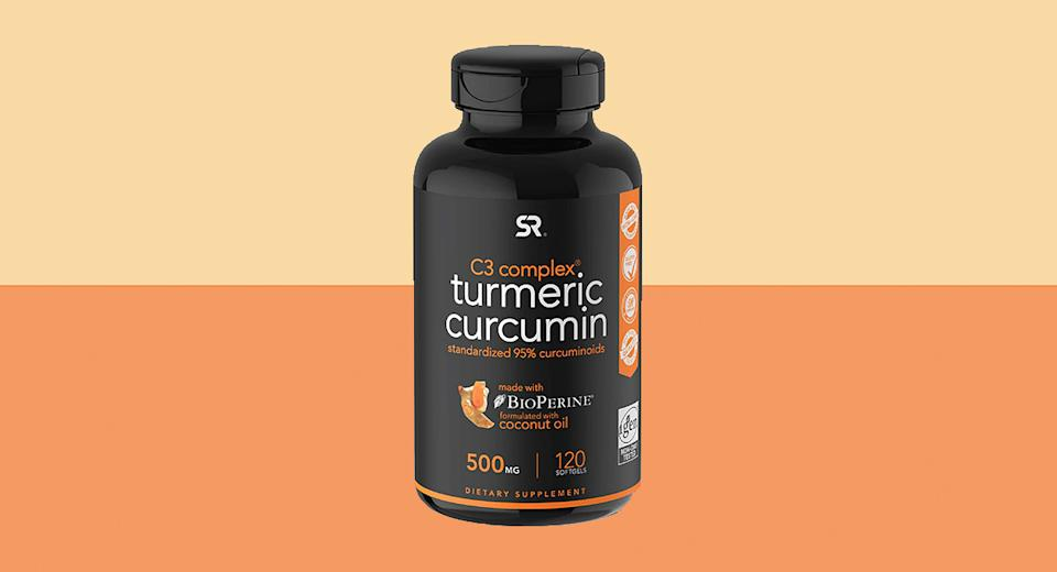 Turmeric Curcumin C3 Complex 500mg (Photo: Amazon)