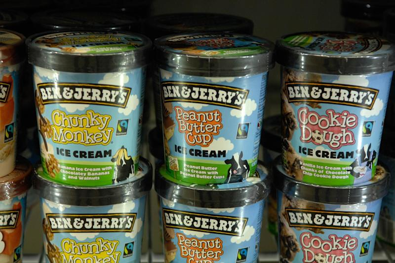Some Ben and Jerry's ice creams were tainted with glyphosate, tests found: Newscast/REX/Shutterstock