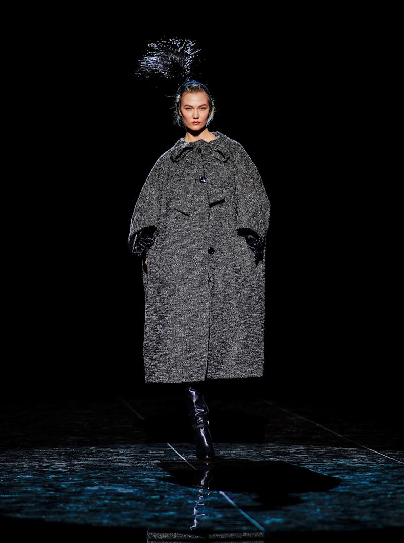 Karlie Kloss has largely stayed clear of the runway in the past few years, but the newly married supermodel joined her hero, Christy Turlington, in walking Marc Jacobs's fall/winter 2019 show during New York Fashion Week in February 2019.