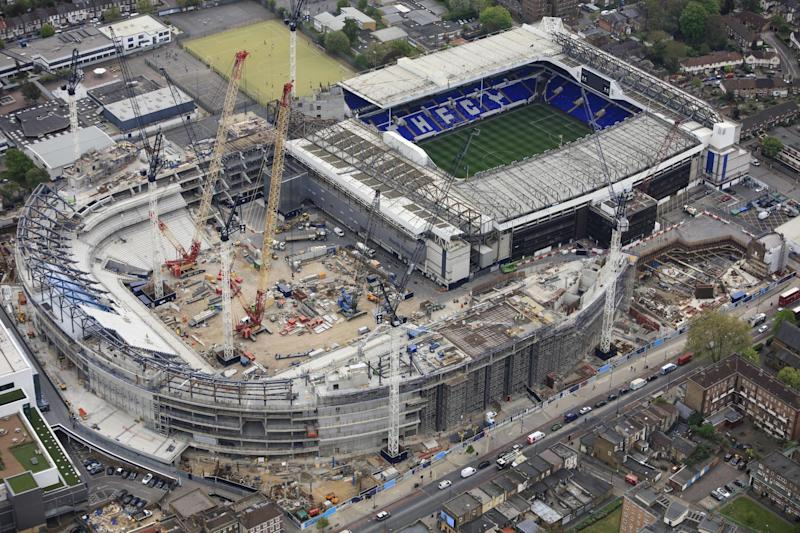 Moving home | The development of White Hart Lane is understood to cost around £750 million: Tottenham Hotspur FC via Getty Images