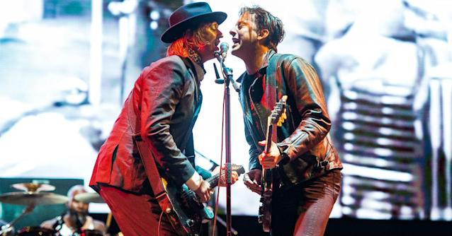 Doherty is due to begin a Libertines tour this weekend (Getty)