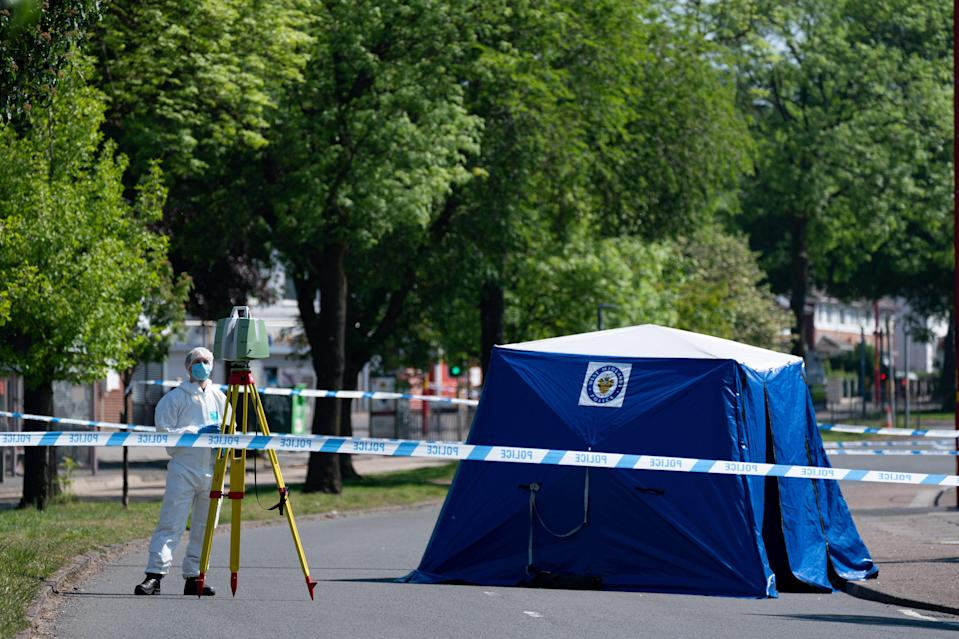 <p>Kingstanding stabbing</p> (PA Wire)