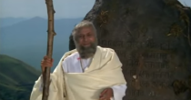 The actor played a spiritual guide and donned an interesting Moses-inspired look in this Dharmendra starrer.