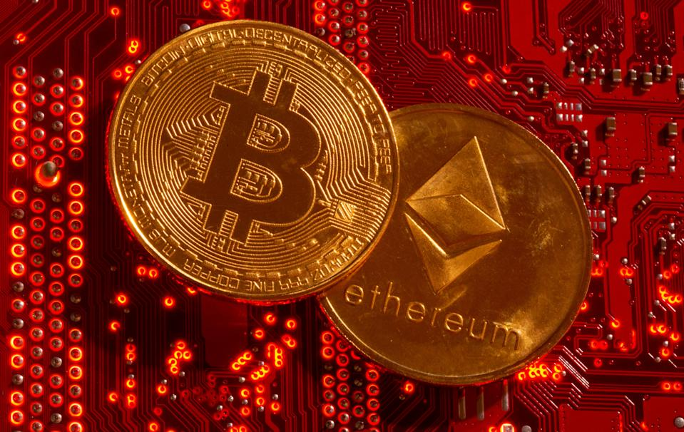 Bitcoin v ethereum: who will be the eventual winner? Photo: Dado Ruvic/Illustration/Reuters