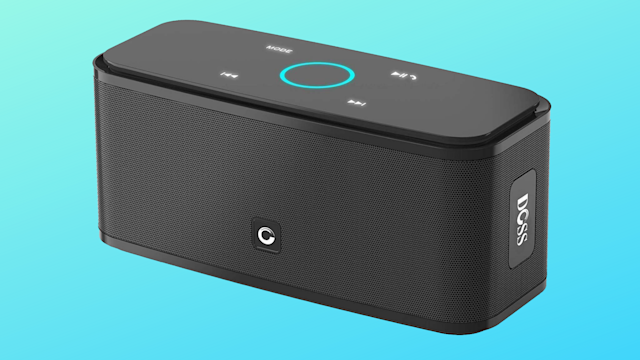 This Bluetooth speaker has a 4.3 out of 5 star rating with over 15,000 reviews. (Photo: Amazon/Yahoo Lifestyle)