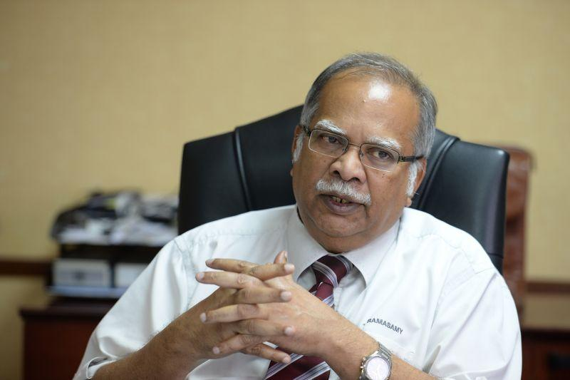 Dr Zakir Naik has sued Penang deputy chief minister II P. Ramasamy (pic) with yet another defamation suit, the second within three months. ― Picture by KE Ooi