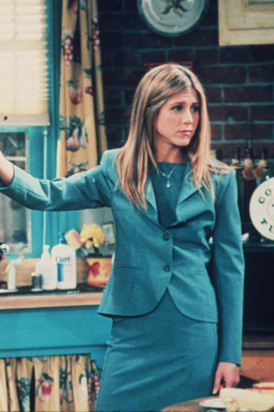 <p>Is there a greater Noughties TV style icon than Rachel Green? We think not. The beloved Friends character, portrayed by the equally beloved Jennifer Aniston, has some killer officewear moments during the 10 seasons, particularly when she is working for Ralph Lauren.</p>