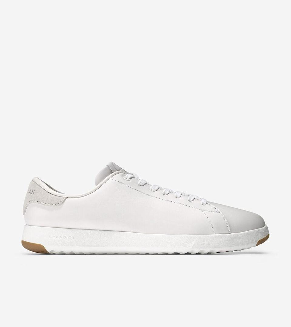 """<p>""""I'm a big fan of these <span>Cole Haan GrandPrø Tennis Sneakers</span> ($130). I used to wear them almost every day in the Before Times! They are the perfect casual work and weekend shoe, especially because there's no need to break them in - they form to your feet and are comfortable enough to wear all day."""" - Allison Ingrum, editorial operations support associate</p>"""