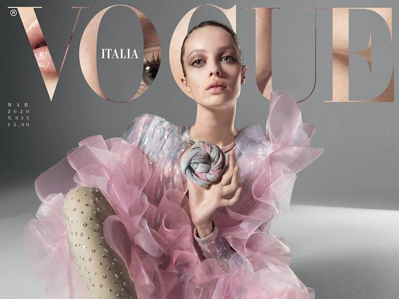 Vogue Italia introduces 'imaginary cover girl'