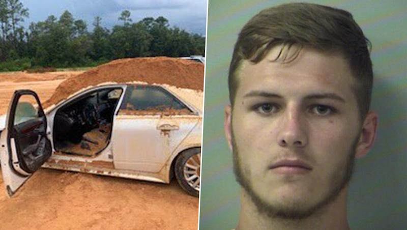 Furious Florida Man Dumps Soil on Girlfriend in Car Using Tractor, Arrested (See Pictures)