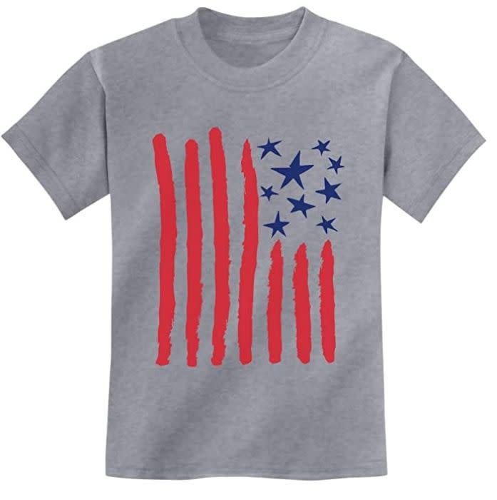 """Find this tee for $17 on <a href=""""https://amzn.to/2Vsao76"""" rel=""""nofollow noopener"""" target=""""_blank"""" data-ylk=""""slk:Amazon"""" class=""""link rapid-noclick-resp"""">Amazon</a>."""