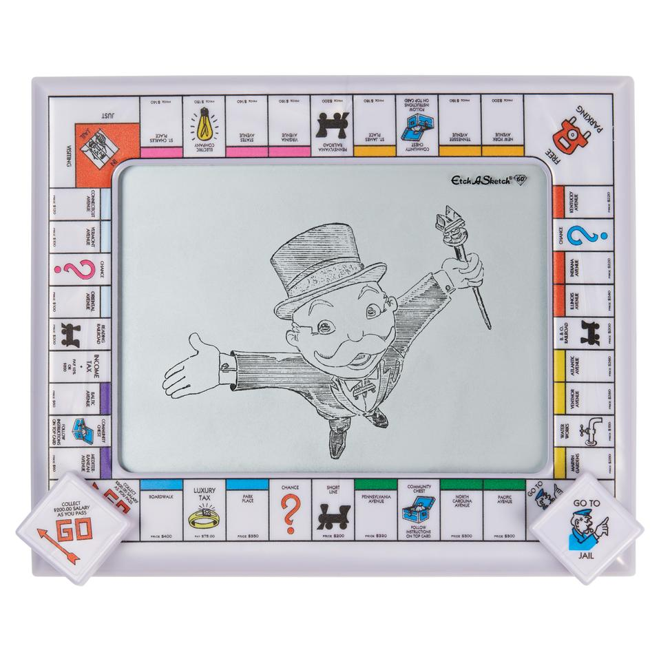 Etch A Sketch Monopoly Edition (Photo: Spin Master)