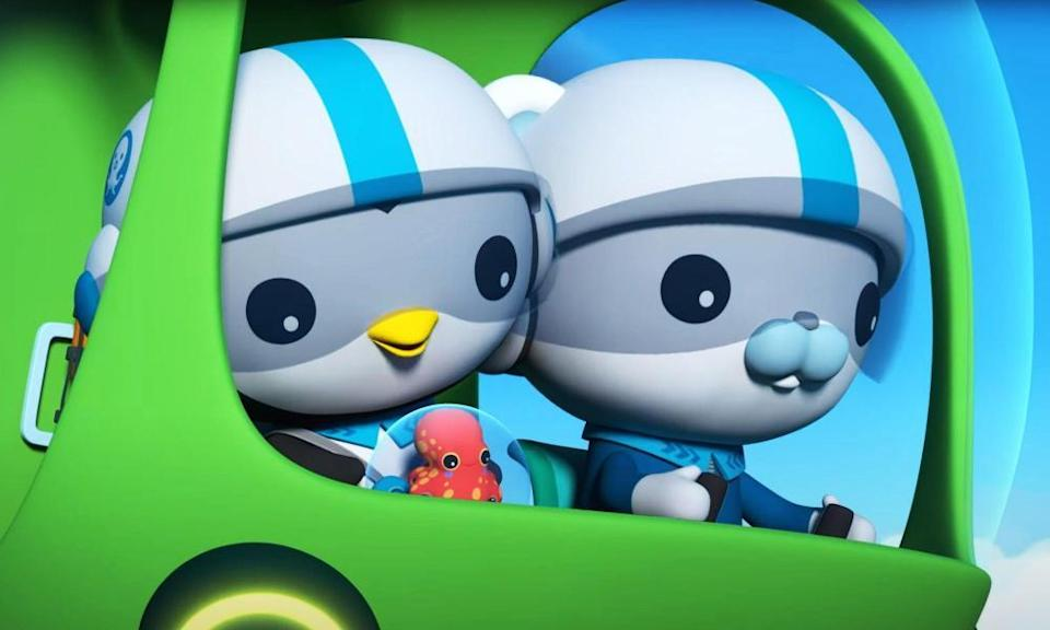 Peso and Captain Barnacles, of the Octonauts