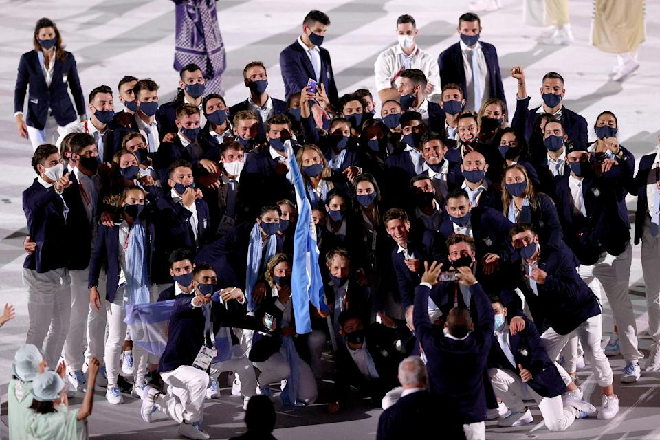 <p>Argentina (Photo by Patrick Smith/Getty Images)</p>