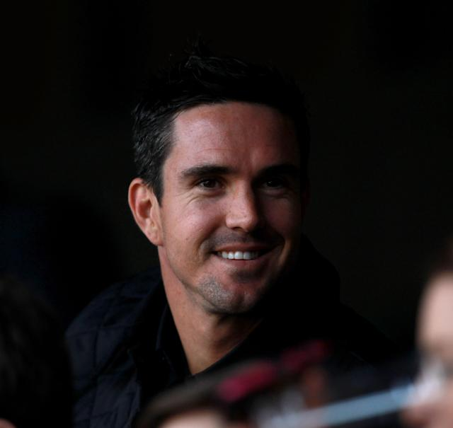 LONDON, ENGLAND - MARCH 27: Cricketer Kevin Pietersen looks on from the stands ahead of the round six Super Rugby match between the Crusaders and the Sharks at Twickenham Stadium on March 27, 2011 in London, United Kingdom. (Photo by Warren Little/Getty Images)