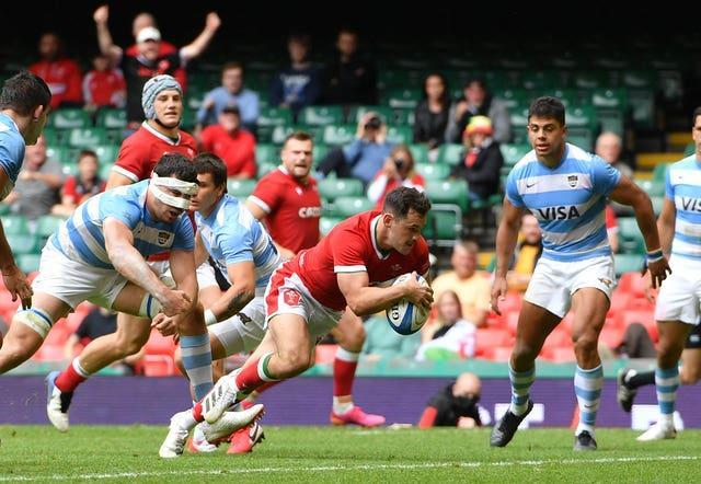 Evans' Cardiff team-mate Tomos Williams will also start