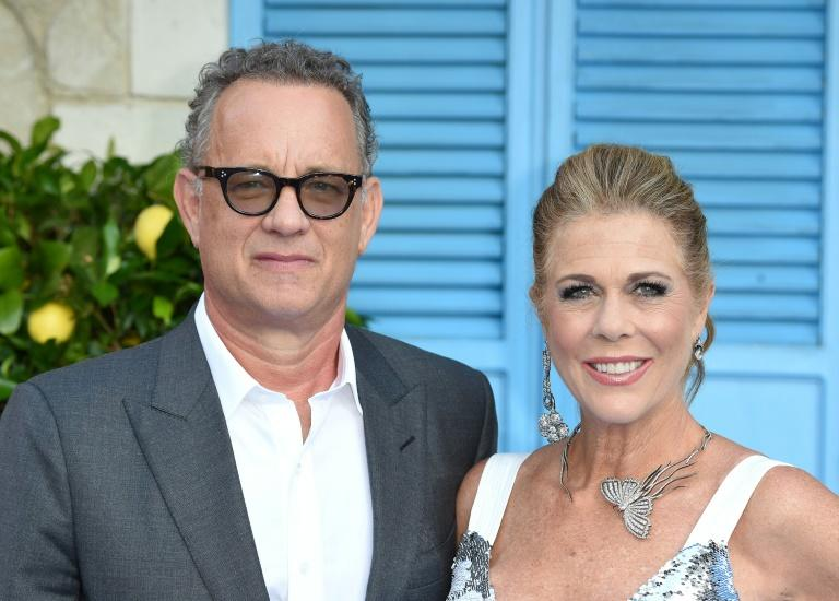 """Holed up in a Gold Coast hospital in Australia, Tom Hanks 63, said he and singer-songwriter partner Rita Wilson were taking the enforced isolation """"one-day-at-a-time"""""""