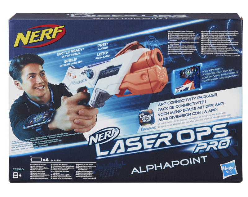 This one will please parents: instead of having a Nerf toy that fires out foam arrows, these new ones rely totally on lasers, so there's no picking them up off the floor. Even better there's a single player option if your little one doesn't have siblings to play with.Price: £45Ages: 8+Click here to buy.
