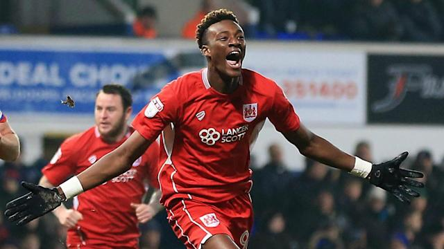 Chelsea attacker Tammy Abraham has caught the attention of Swansea City with his sublime performances on loan at Bristol City.