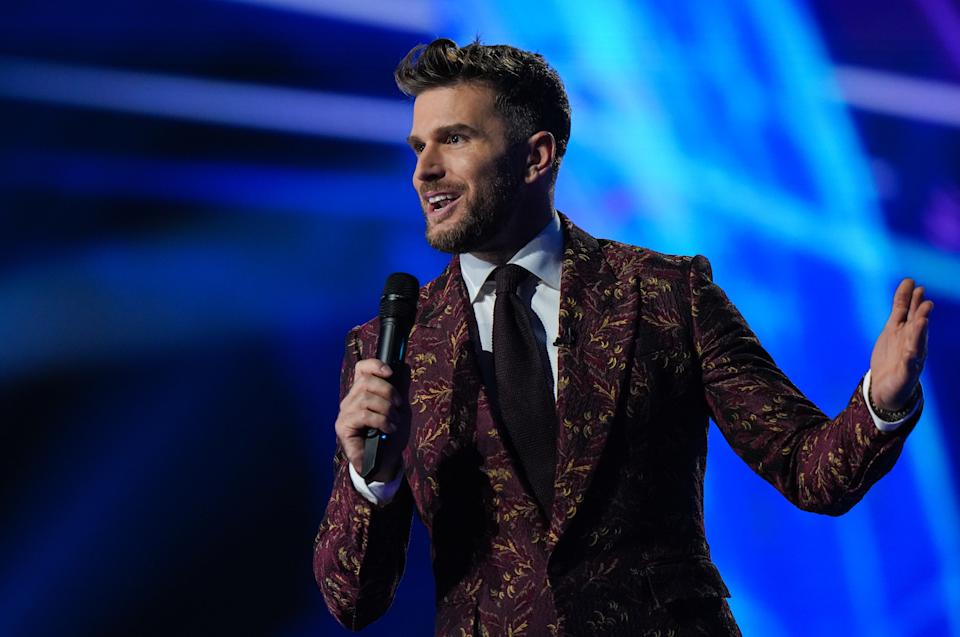 Joel Dommett will host The Masked Dancer. (ITV)