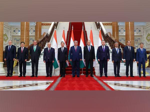 The two-day SCO Foreign Ministers Council started in Dushanbe, Tajikistan. (Photo Credit: EAM S Jaishankar twitter)