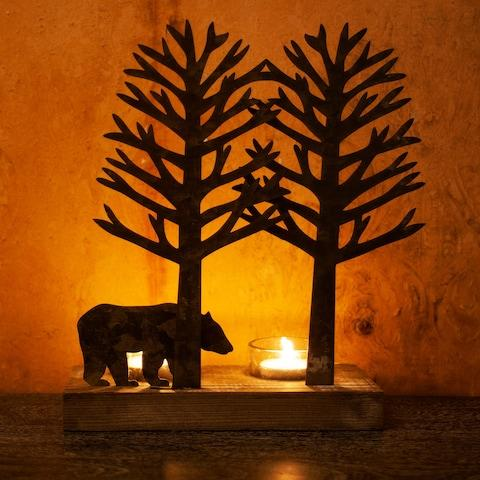 Bear Tea Light Holder