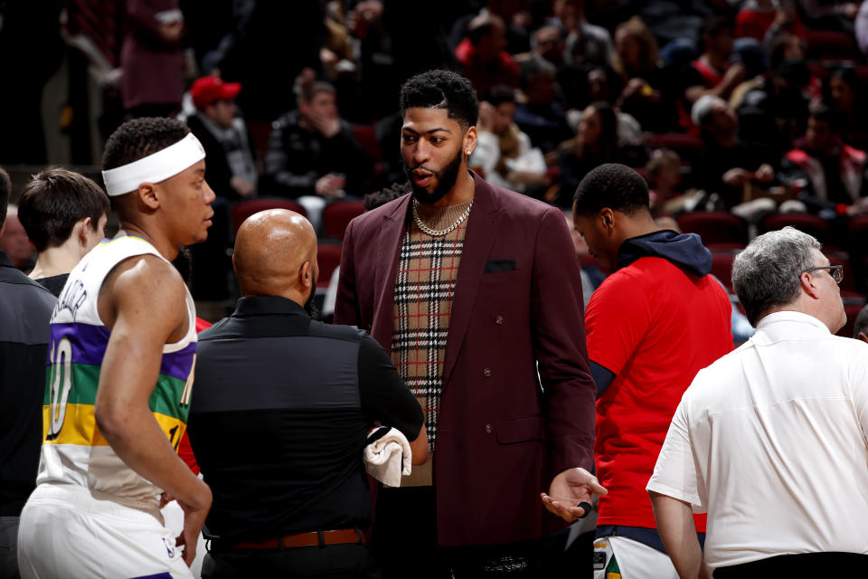 Anthony Davis reportedly plans to hit free agency in 2020. (Photo by Jeff Haynes/NBAE via Getty Images)