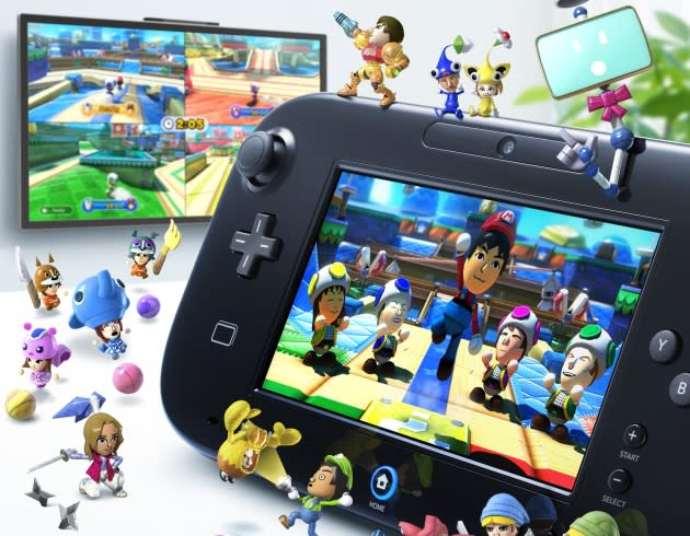 "<b>Nintendo Land</b><br> Available for: Wii U <br><br>  Just as Wii Sports showcased what the Wii could do, Nintendo Land is a must-have game for the Wii U. While it's not quite as captivating as Wii Sports, it has plenty of fun games and is one of best ways to showcase what the new system can do. Just make sure you have a few Wii remotes handy for the game's terrific multiplayer. <br><br>  <a href=""http://www.amazon.com/Nintendo-Land-wii-u/dp/B002I0K3M0/ref=sr_1_1?s=videogames&ie=UTF8&qid=1353532848&sr=1-1&keywords=nintendoland"">Buy at Amazon</a>"