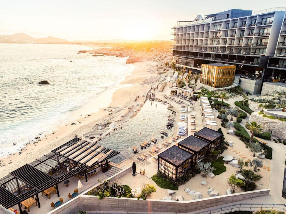 "<p>This fabulous boutique hotel marries urban luxury with natural amenities, making <a href=""https://www.thompsonhotels.com/hotels/mexico/cabo-san-lucas/the-cape"" rel=""nofollow noopener"" target=""_blank"" data-ylk=""slk:the Cape"" class=""link rapid-noclick-resp"">the Cape</a> a perfect escape for those in need of a reboot. It's a great option for those who are seeking to refresh the body and mind but aren't quite sure what they need to achieve it. The Cape offers a five-day <a href=""https://www.thompsonhotels.com/hotels/mexico/cabo-san-lucas/the-cape/offers/wellness-retreat"" rel=""nofollow noopener"" target=""_blank"" data-ylk=""slk:Mind, Body & Soul Retreat"" class=""link rapid-noclick-resp"">Mind, Body & Soul Retreat</a> featuring private villas, daily fitness classes, locally inspired restorative practices, spa treatments, nutritionist-approved meals, and access to a personal Wellness Concierge. Everywhere you turn offers a stellar view of the Pacific Ocean, and guests can even schedule alfresco spa treatments—and other rejuvenating amenities—at one of the property's secluded, ocean-view cabanas.</p>"