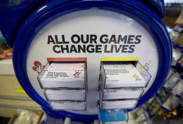 National Lottery games