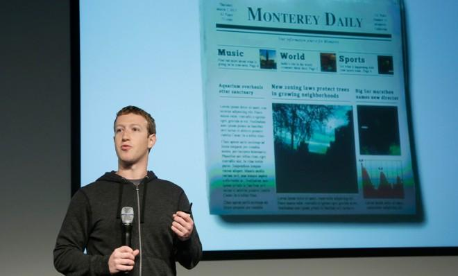 "The new Facebook is going to feel more like you're reading a ""personalized newspaper."""