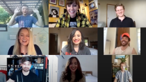 <p>Demi Lovato, Tiffany Thornton and their Disney Channel costars reunited virtually to reminisce about their time on the <em>Sonny with a Chance</em> set.</p>