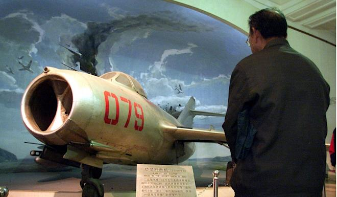Most of China's pilots flew old-style MiG-15 fighters in the Korean war. Photo: AP