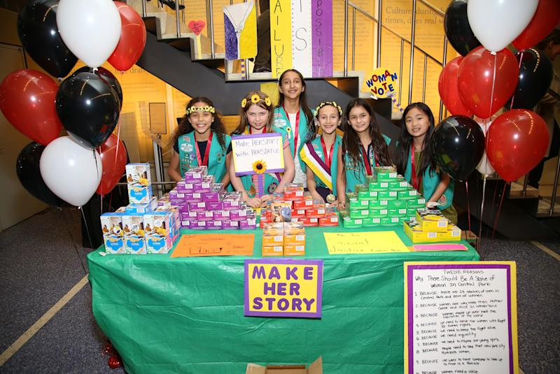 """We believe strongly in the importance of the all-girl, girl-led, and girl-friendly environment that Girl Scouts provides, which creates a free space for girls to learn and thrive,"" the organization's blog post states. (Walter McBride via Getty Images)"