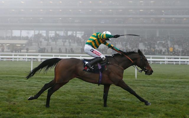 <span>Unowhatimeanharry wins at Ascot last December</span> <span>Credit: Getty Images </span>