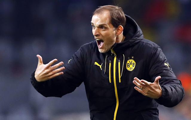 Thomas Tuchel criticised Uefa's decision to make his side play - EPA