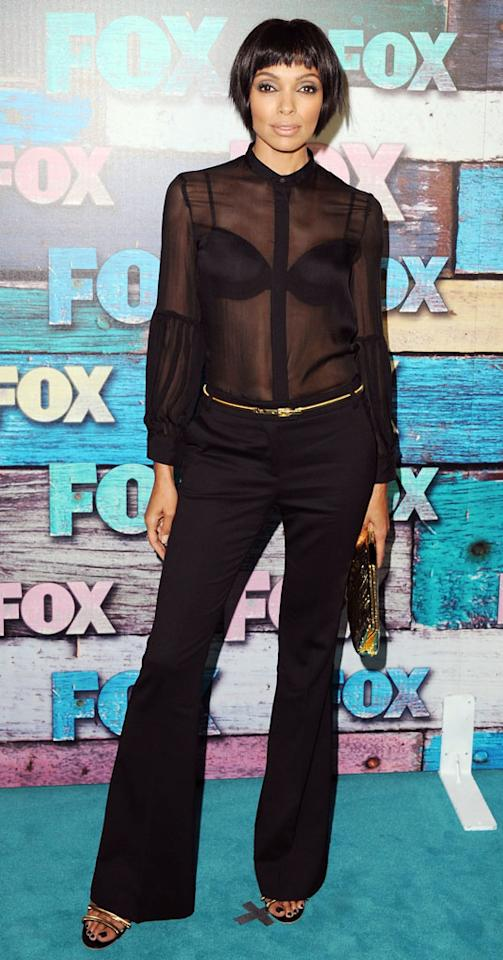 """Tamara Taylor (""""Bones"""") arrives at the Fox Summer 2012 All-Star Party on July 23, 2012 at the Soho House in West Hollywood, California."""