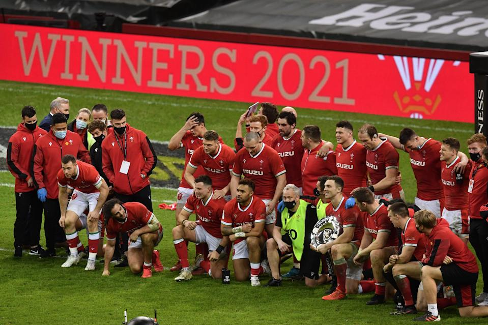 <p>Wales are Six Nations champions for the second time in three years</p> (AFP via Getty Images)