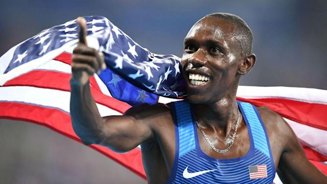 Kenyan-born American distance runner Paul Chelimo rode a roller coaster of emotions after the 5,000-meter final on Saturday. (Sporting News)