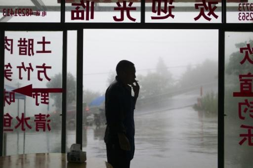 Around 315 million people smoke in China, consuming more than a third of the world's cigarettes