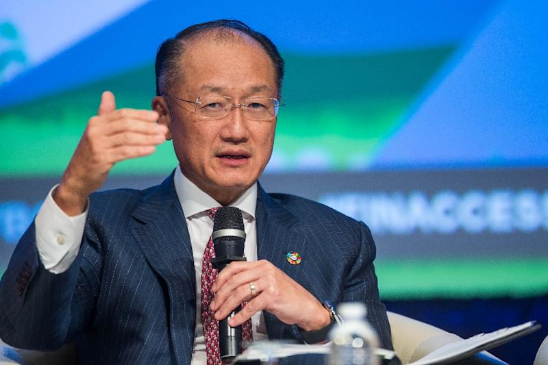 World Bank President Jim Yong Kim, pictured in October 2016, will visit Rwanda and Tanzania in a show of support for the entire region